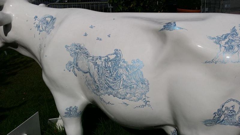 """Virginie Broquet - """"La vache ré-jouy"""""""