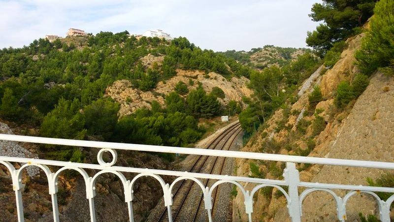 Passage de la voie ferrée