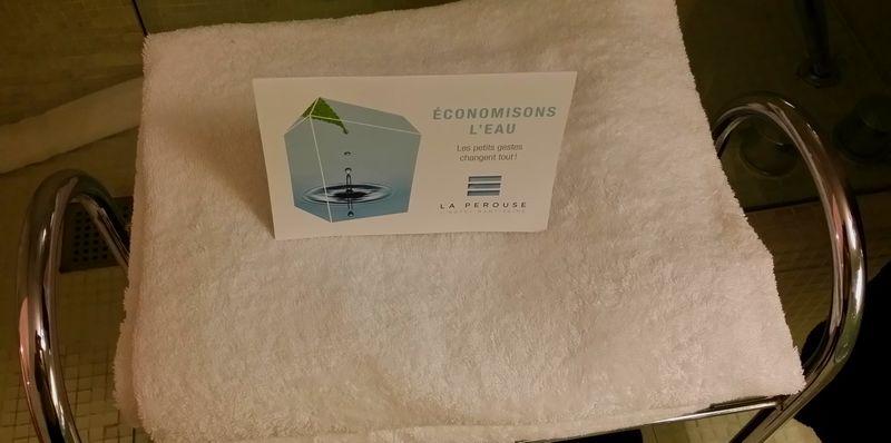 Economies d'eau