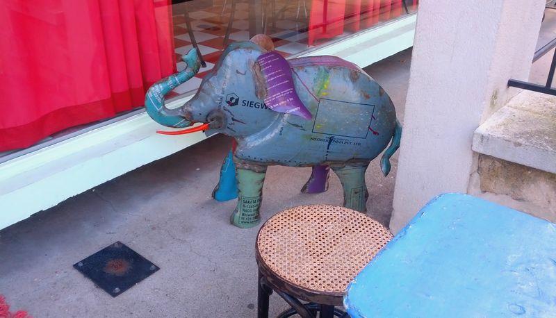 Elephanteau de bienvenue