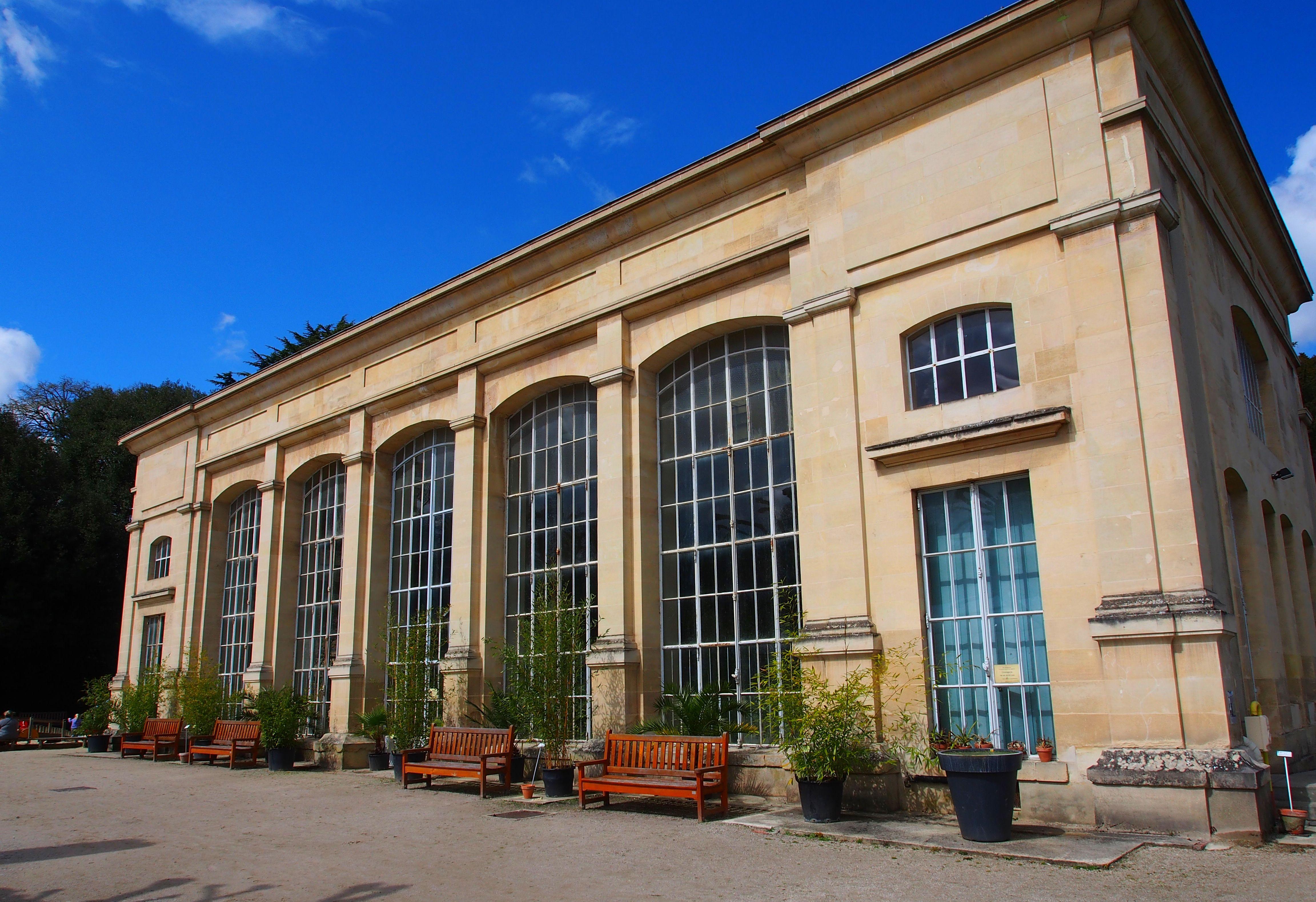 L'orangerie du jardin des plantes de Caen