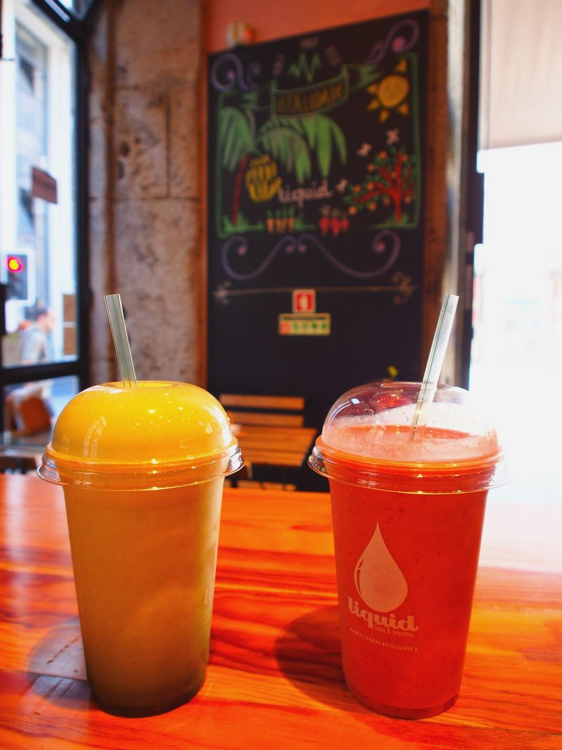 Smoothies de chez Liquid