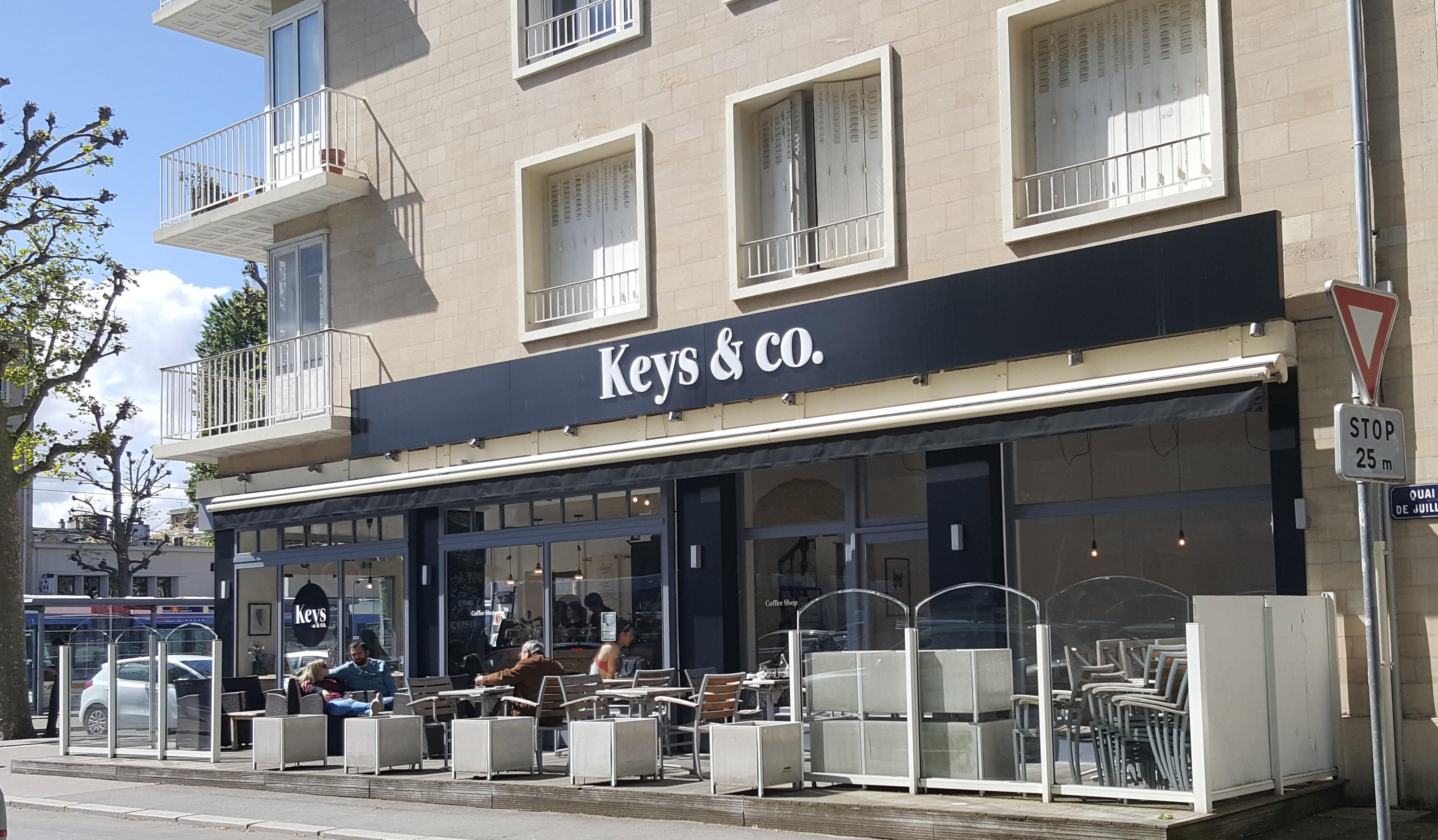 Keys co caen coffee shop tendance et gourmand for Garage ouvert le dimanche caen