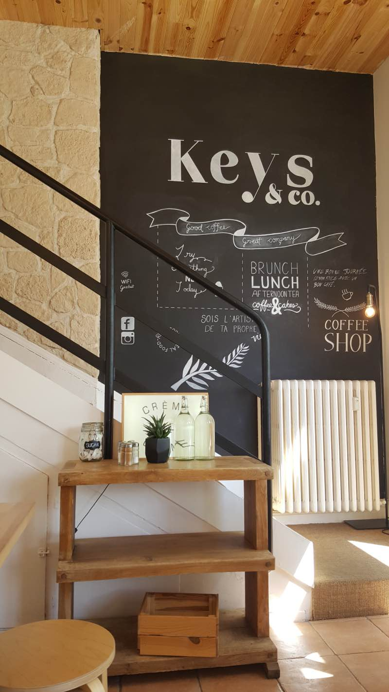Intérieur du Keys and Co