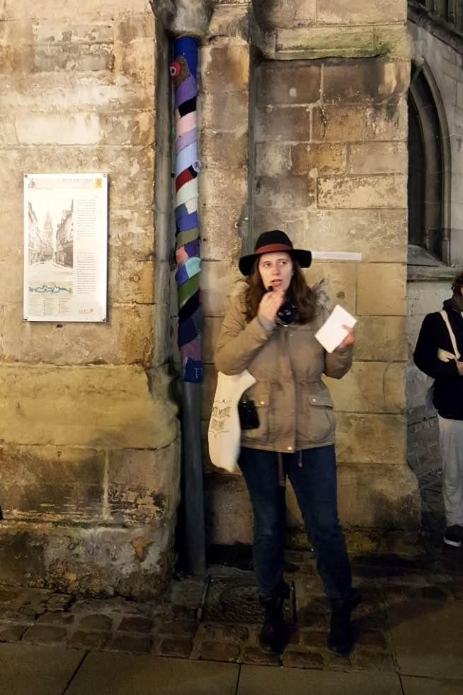 Anne, notre guide Petits Mystères dans Caen