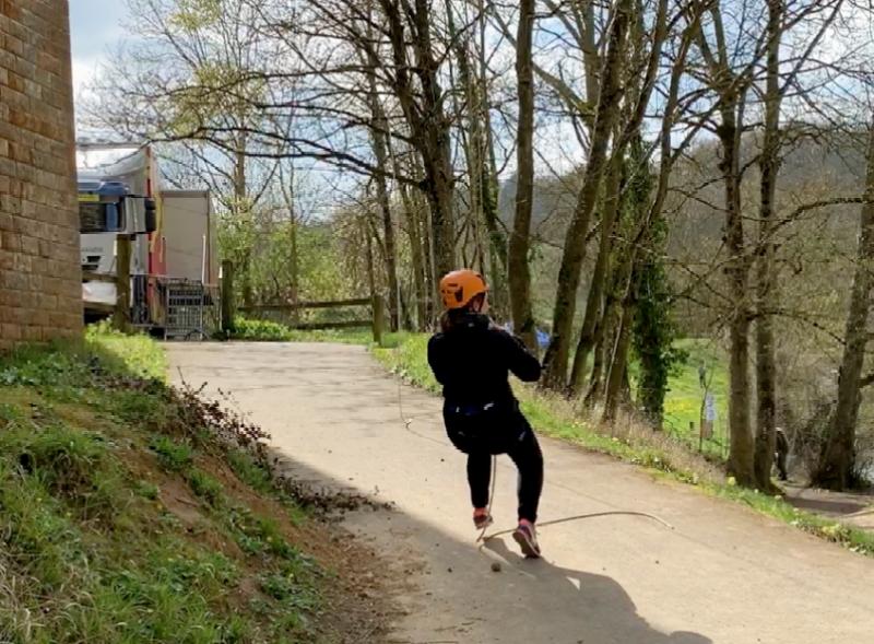 Ma descente en rappel du viaduc de Clécy en Suisse Normande