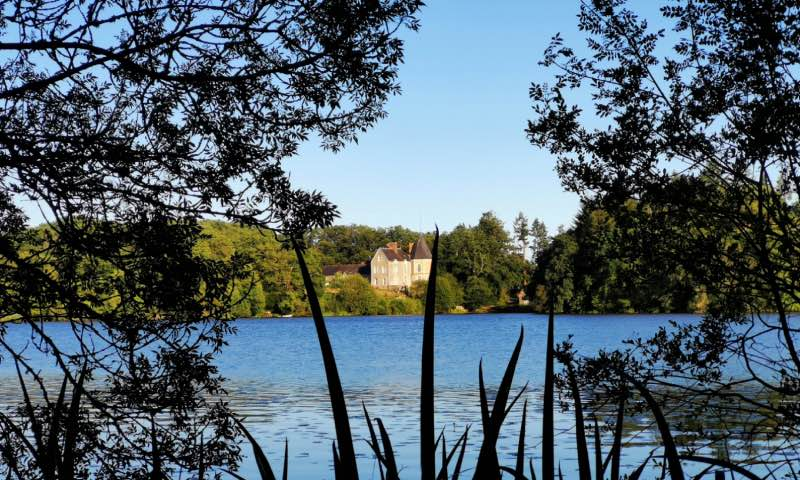 L'étang au bout du parc