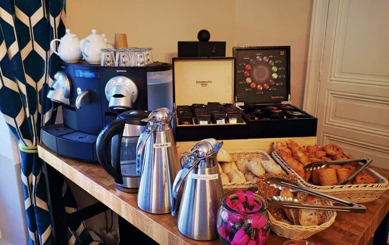 Nespresso et thé Dammann